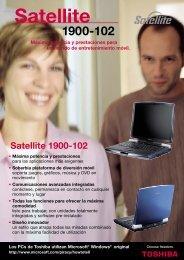 Satellite 1900-102 - Toshiba