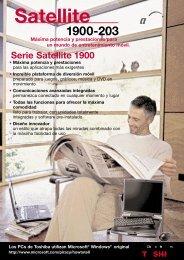 Satellite 1900-203 - Toshiba