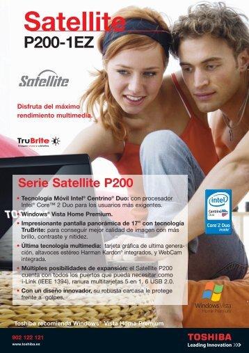 final satellite P200-1EZ - Toshiba