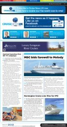 MSC bids farewell to Melody - Travel Daily Media