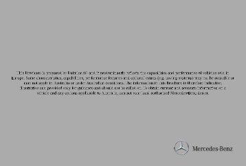 noblesse oblige - Mercedes-Benz
