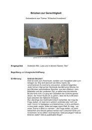Gottesdienst - Ethisches Investment - Pax Christi Limburg