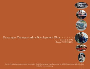 Passenger Transportation Development Plan - East Central ...