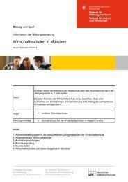 Wirtschaftsschulen in München - Städtische Riemerschmid ...