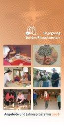 Angebote und Jahresprogramm 2008 Begegnung ... - Directserver.org
