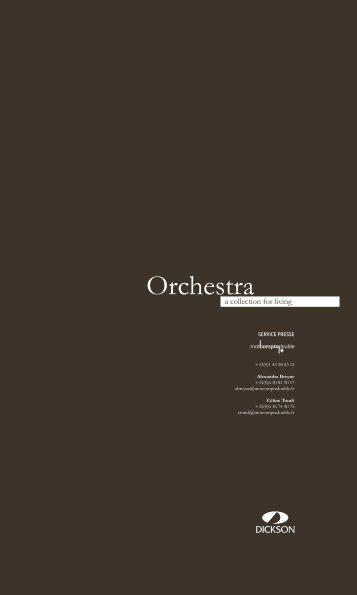 Dossier de presse Orchestra 2008 - Dickson