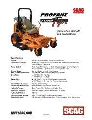 Turf Tiger Propane 25CH (PDF)