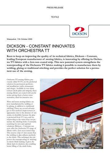 sunbrella awning leaflet dickson. Black Bedroom Furniture Sets. Home Design Ideas