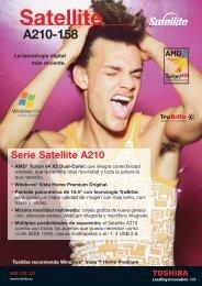 final satellite A210-158 - Toshiba