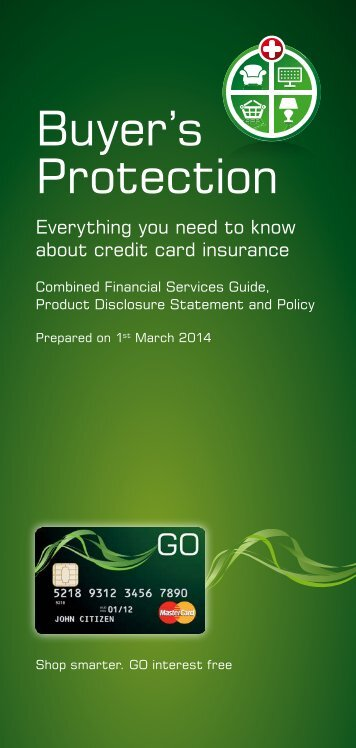 Download PDS - GE Money