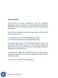 June 2011 (PDF) - GE Money