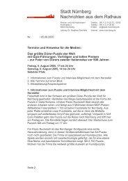 Termine und Hinweise für die Medien - Kubiss.de