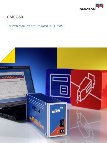 CMC 850 - Product brochure - Source