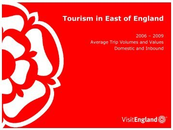 Tourism in East of England - VisitEngland