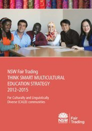 Think Smart Multicultural Education Strategy - NSW Strategic ...