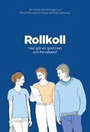 Rollkoll Huvudman webb