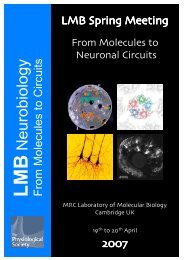 LMB - MRC Laboratory of Molecular Biology