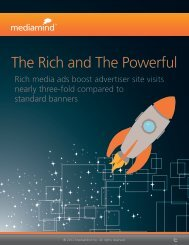 The Rich and The Powerful - MediaMind