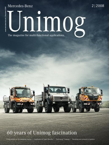 60 years of Unimog fascination - Mercedes-Benz UK
