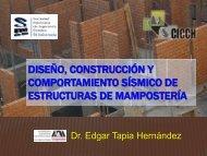 Edgar Tapia Hernández - Sociedad Mexicana de Ingeniería Sísmica
