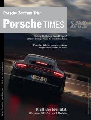 Kraft der Identität. Porsche Zentrum Trier
