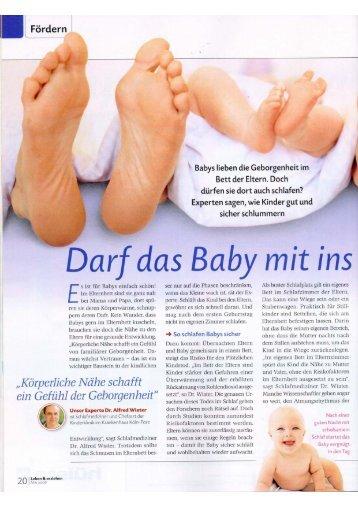 Ganzen Bericht lesen - Babybay