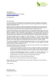 EEC Submission to the Senate Economics Committee on the Energy ...