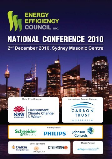 Download the program here - Energy Efficiency Council