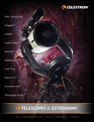 Astronomy Catalog - Celestron
