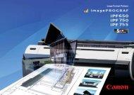 ImagePrograf 755(a)1.3 - Canon Marketing (Philippines)