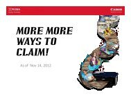 MORE WAYS TO CLAIM ver 3.pdf - Canon Marketing (Philippines)