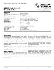 2112TL Photoelectronic Smoke Detector - Cerber.pro