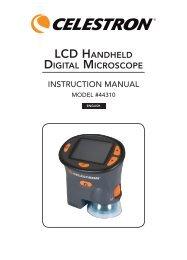 LCD HANDHELD DIGITAL MICROSCOPE - Celestron