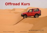 Offroad-Kurs (c) 1997-2009 Heinrich Huber offroad-kursunterlagen ...