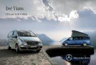 Broschüre Viano FUN & MARCO POLO - Mercedes-Benz Österreich