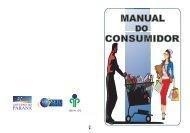 Manual do Consumidor - Procon