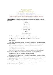 Presidência da República Casa Civil Subchefia para ... - Procon