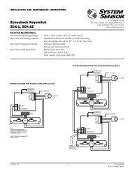 Zonecheck Keyswitch ZCK-1, ZCK-1E - Cerber.pro
