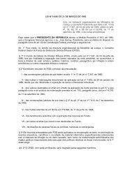 Lei 9.008-95 Cria Conselho Gestor do Fundo Federal - Procon