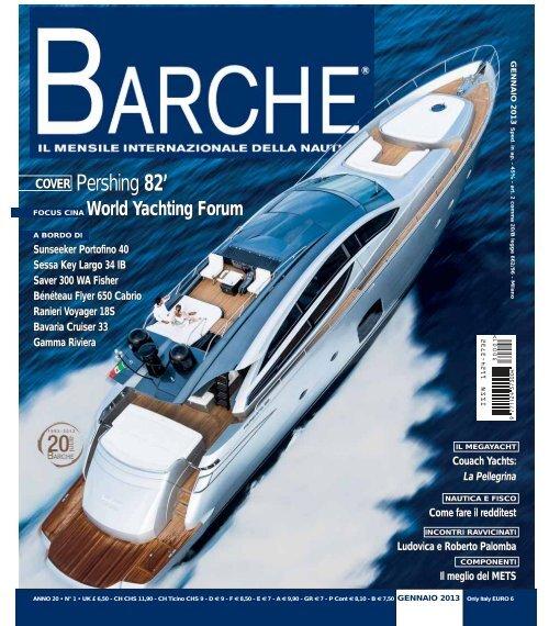COVER Pershing 82 - ISA Yachts
