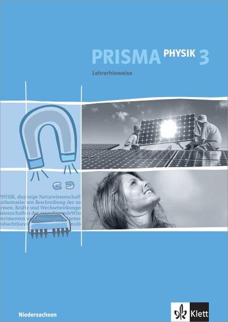 Lehrerhinweise Zu Prisma Physik 3 Ernst Klett Verlag