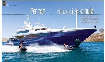 ampi spazi per il relaxe la CONVERSAZIONE, MARINO ... - ISA Yachts