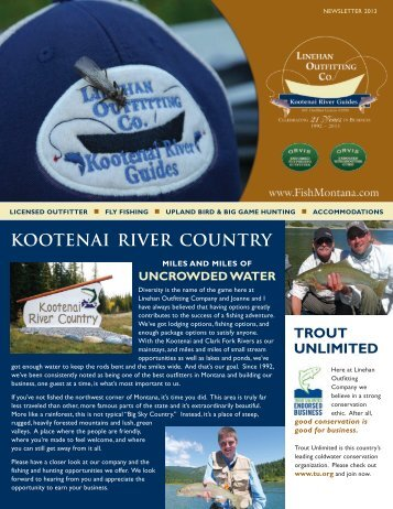 Checkout Our Latest Newsletter - Linehan Outfitting Co.