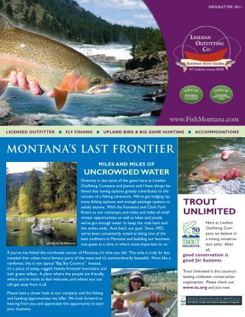 Montana's Last FrontieR - Linehan Outfitting Co.