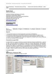 Module Géomatique – Faculté des Sciences d'Orsay Soudani Kamel ...