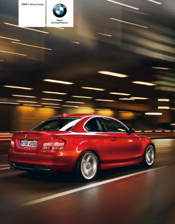 BMW 1 Series Coupé Sheer Driving Pleasure - BMW-a