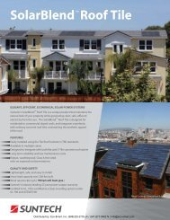 SolarBlend ™ Roof Tile - ECO-$MART Home