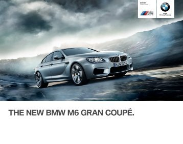 THE NEW BMW M GRAN COUPÉ. - BMW-a