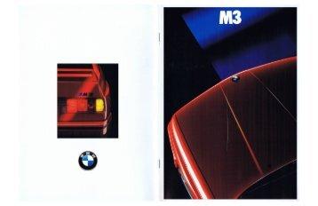 Page 1 Page 2 THE BMW M3 .ul-*w -wäawßiu Page 3 STYLING ...