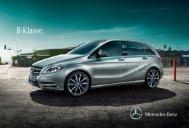 Broschüre der B-Klasse herunterladen - Mercedes-Benz Österreich